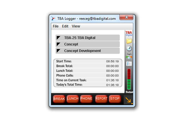 TBA Digital Logger.